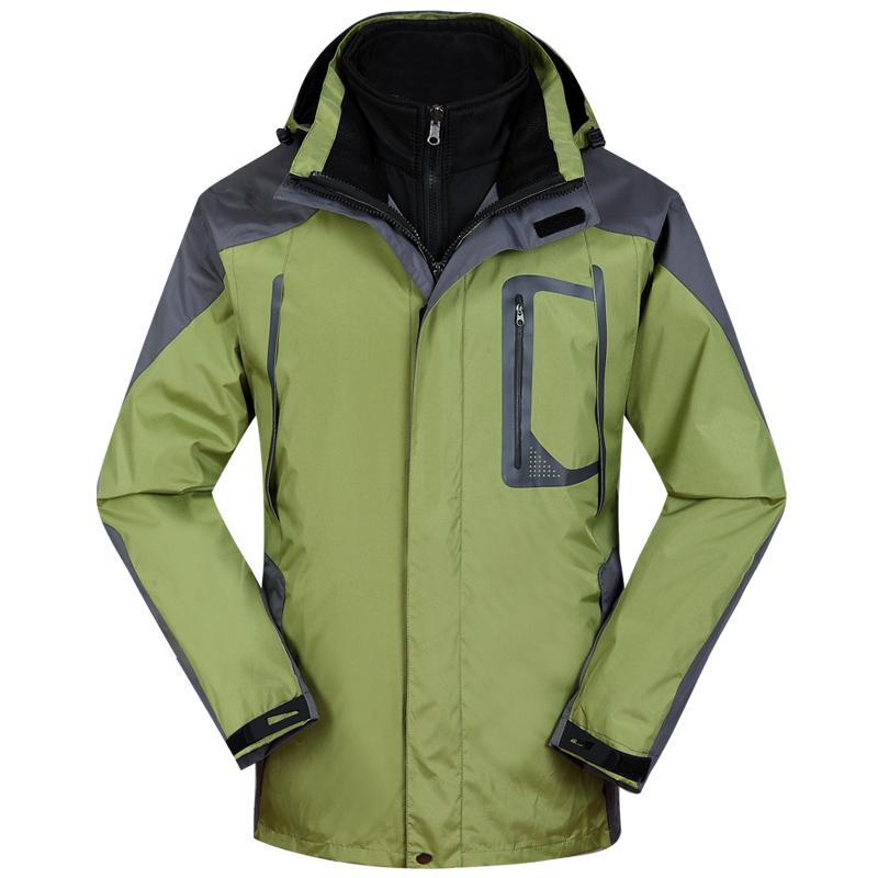 冲锋衣SM2绿色