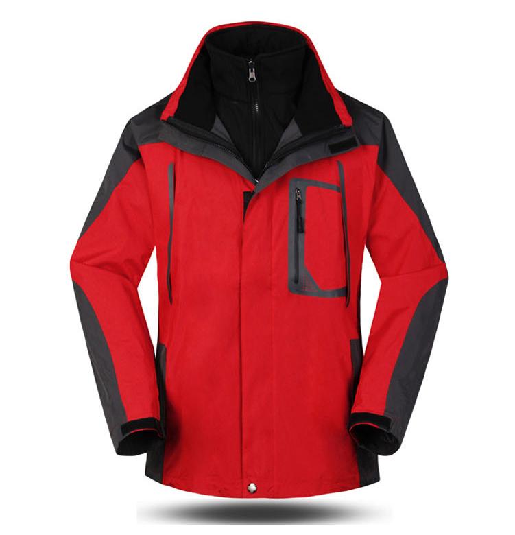 冲锋衣SM2红色